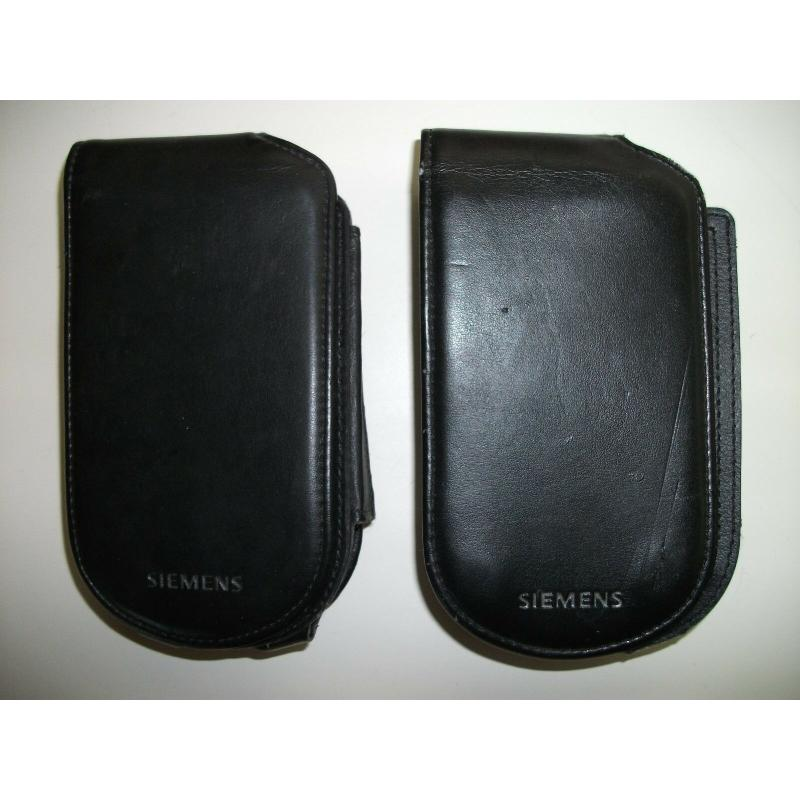 Quantity 2 - Siemens PDA Pocket PC iPAQ Covers Holsters Case - Only 1 Clip