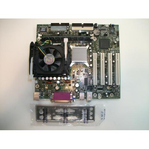 Intel D845GLLY Socket 478 Motherboard w/2Ghz CPU 512MB PC133 Memory & I/O Plate