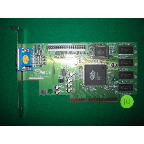 AMC VER. 2.0 ATI Rage IIC AGP Video Card