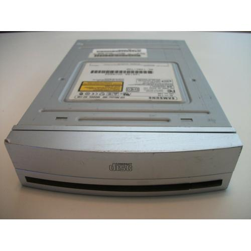 Silver Samsung SC-148 48X Internal IDE CD-ROM Drive - Tested & Working!