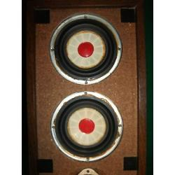 Unobtainium! Vintage Mid 1970's Stan White Glass Happening Shot-Glass Speakers